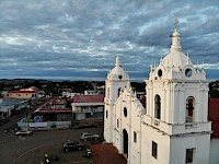 Vista aérea de la Catedral de Santiago de Veraguas