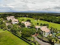 Vista aérea del campo de golf de Buenaventura Panamá