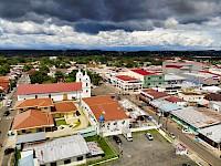 Vista aérea de la ciudad de Santiago de Veraguas