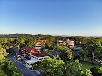 Vista aérea de las ciudad del Saber en ciudad del Saber