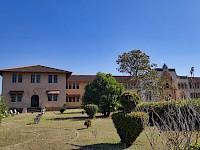 Vista lateral de la Escuela Normal Juan Demóstenes Arosemena