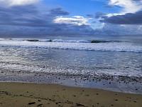 Playa frente al Hotel Punta Franca