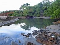 Río cercano a Hotel Punta Franca en Pedasí