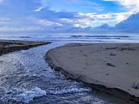 Entrada de Mar cercano al hotel Punta Franca